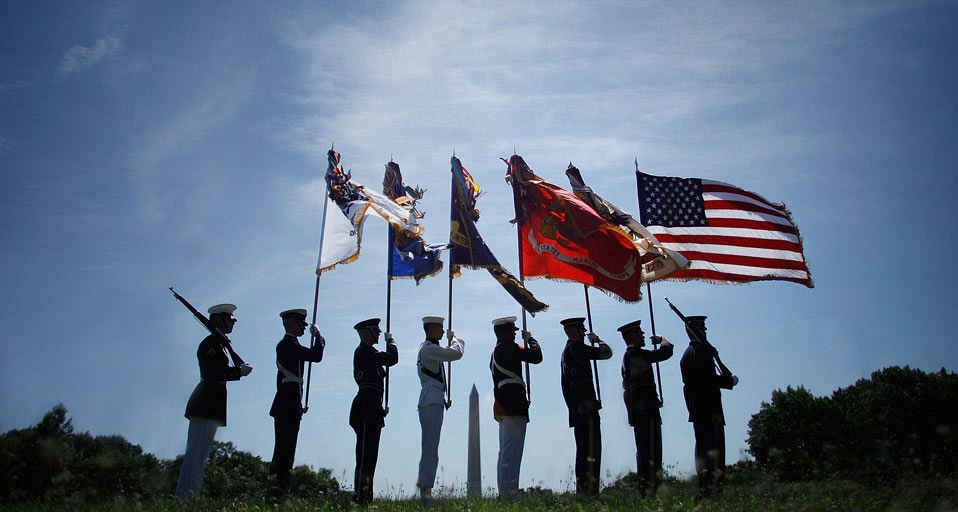 Photo - veterans day US Armed Forces
